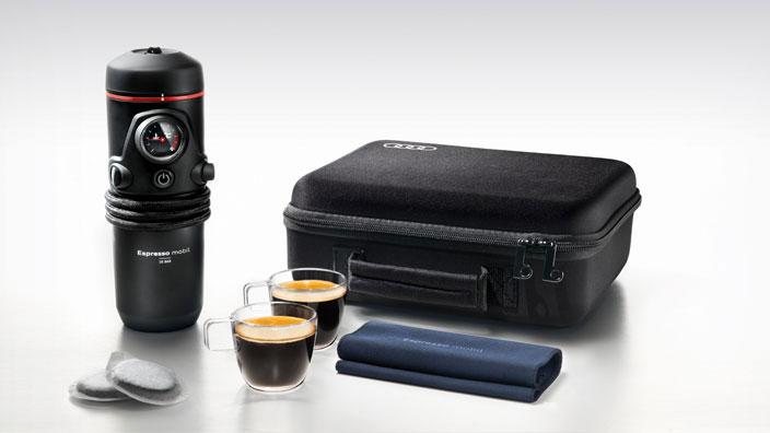 Audi zubehör espresso