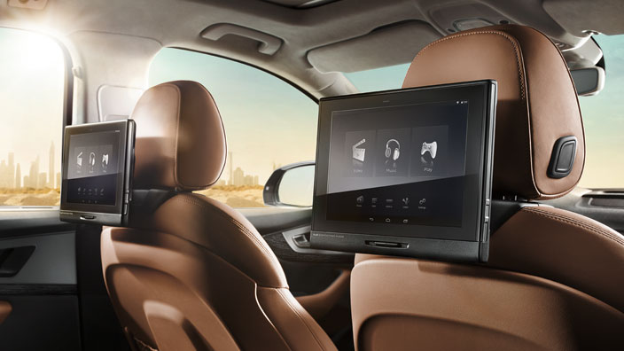 Rear Seat Entertainment Gt Multimedia Gt Kommunikation