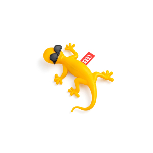 Air freshener gecko, yellow with sunglasses, fruity