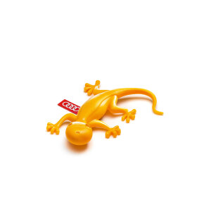 Air freshener gecko, yellow, fruity