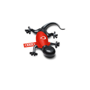 Air freshener gecko, Turkish version, black, spicy