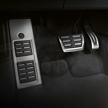 Foot rests and pedal caps