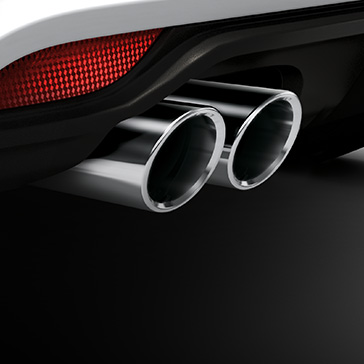 Sports tailpipe trims
