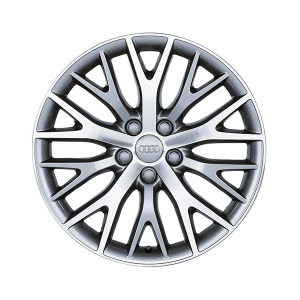 Cast aluminium wheel in Y-spoke design, anthracite, 8.5 J x 19