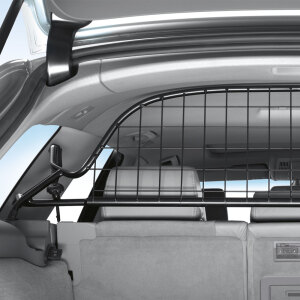 Half partition grille for the luggage compartment, transverse, half height