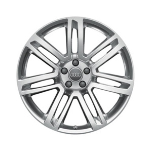 Cast aluminium winter wheel in 7-twin-spoke design, high-gloss, 8 J x 20