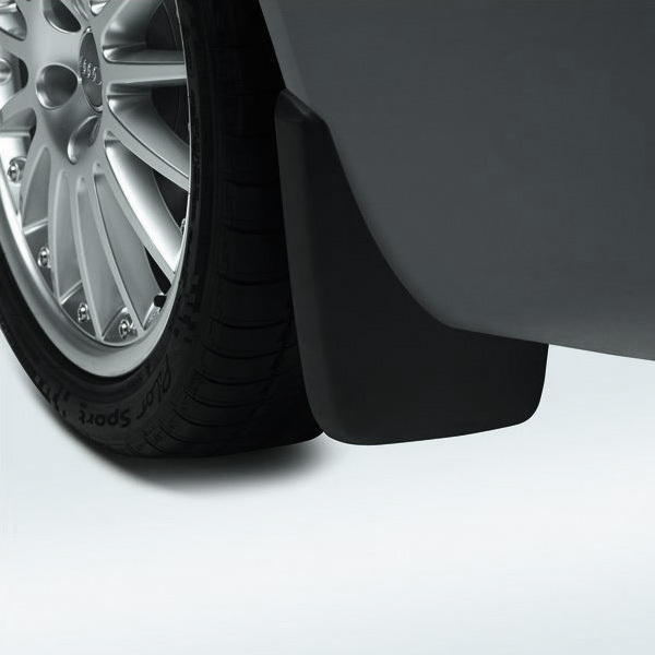 Mud flaps, for the front, for vehicles without S line exterior package