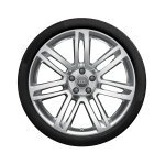 Complete winter wheel in 7-twin-spoke design, high-gloss, 8 J x 20, 245/40 R 20 99V XL