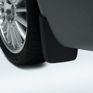 Mud flaps, for the rear