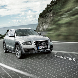 Audi Tracking Assistant plus, installation package, for vehicles with the preparation for the Audi Tracking Assistant