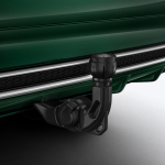 Trailer towing hitch, mechanically swivelling, incl. electrics set, for vehicles with steel-spring suspension