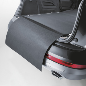 Reversible mat with bumper protection, grey