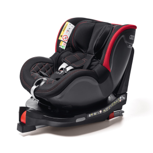 Child seat Dualfix I-SIZE, black/red