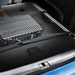 Luggage compartment net