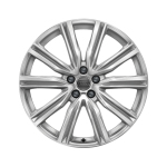 Cast aluminium winter wheel in 5-V-spoke design, brilliant silver, 8.5 J x 20