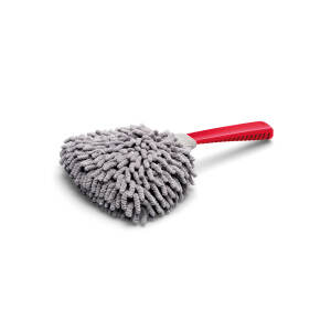Microfibre interior brush