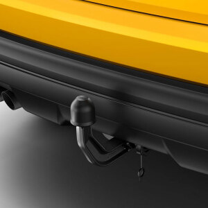 Trailer towing hitch, removable, incl. electrics set, for vehicles with the preparation for the trailer towing hitch