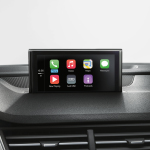 Post-montaggio di Audi smartphone interface