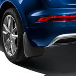 Mud flaps, for the rear, for vehicles without S line exterior package and without equipment line advanced