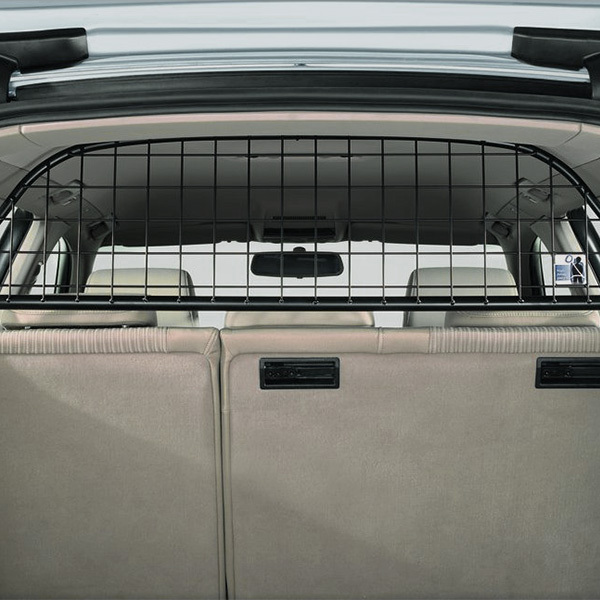 Partition grille for the luggage compartment, transverse, half height