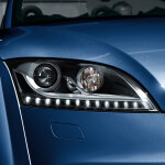 Retrofit solution for the LED daytime running lights, for vehicles without adaptive light