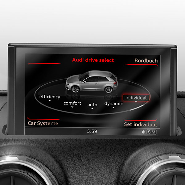 Retrofit solution for Audi drive select, for vehicles with an automatic gearbox
