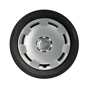 Complete steel winter wheel with full wheel cover, brilliant silver, 6 J x 16, 205/55 R 16 91H, right
