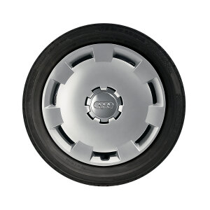 Complete steel winter wheel with full wheel cover, brilliant silver, 6 J x 16, 205/55 R 16 91H, left