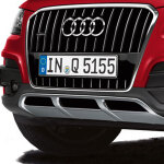 offroad style package, bumper cover, for vehicles without the parking system plus, with a headlight washer system, primed