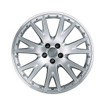Cast aluminium wheel in 7-V design, brilliant silver, 8.5 J x 20