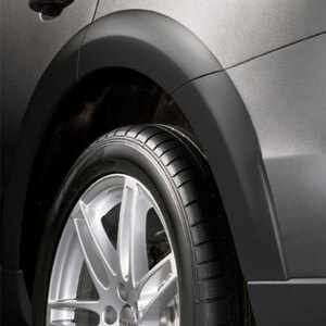"offroad style package for the wheel arch trim kit for wheel arch extensions, for 20"" wheels, black"