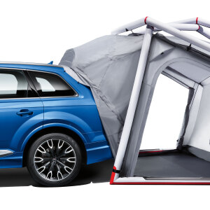 Connection for the camping tent, for the Q7
