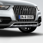 offroad style package, radiator grille, for vehicles with the front parking system or with park assist