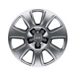 Cast aluminium winter wheel in 7-arm design, brilliant silver, 6.5 J x 16