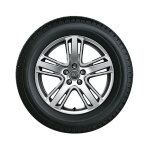 Complete winter wheel in 5-arm structure design, high-gloss, 8 J x 18, 225/50 R18 99H XL, right