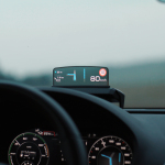 Head up display, con pantalla TOLED