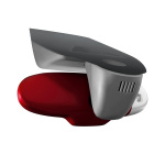 colour kit red, decorative trim for the interior mirror, manual anti-dazzle, misano red/ibis white