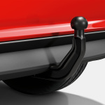 Trailer towing hitch, removable, incl. electrics set, for vehicles without the preparation for the trailer towing hitch
