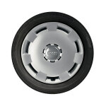 Complete steel winter wheel with full wheel cover, brilliant silver, 6.5 J x 16, 205/55 R 16 91H, right