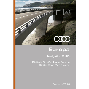Navigation function and data, version 2018 for Europe (RMC)