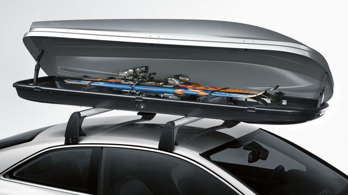 Ski and luggage box 450 l 000071174b audi genuine for Mercedes benz roof box 450 dimensions