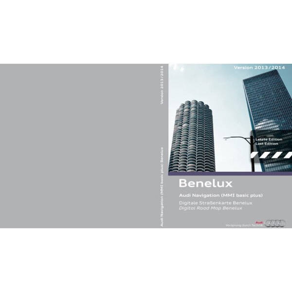 cd rom for navigation system mmi basic plus benelux 2013. Black Bedroom Furniture Sets. Home Design Ideas
