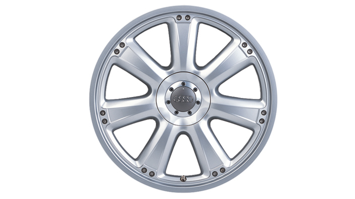 Aluminium alloy wheel 8 J x 18, 7-spoke design