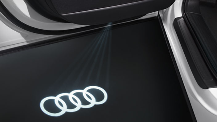 Led Audi Rings For Entry Area 4g0052133a Gt Audi Genuine
