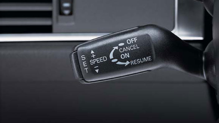 Retrofit solution for the cruise control system, for vehicles with or without a multifunction steering wheel