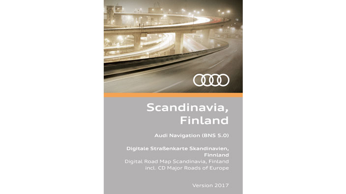 Navigation update, version 2017 for Scandinavia and Finland (BNS 5.0)