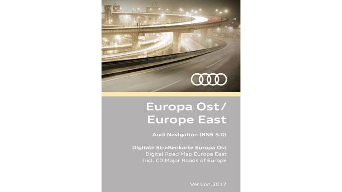Europa Navigation (RMC) Digital Road Map Europe