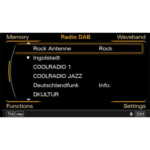 Retrofit solution for digital audio broadcasting 8K0051794D > Audi
