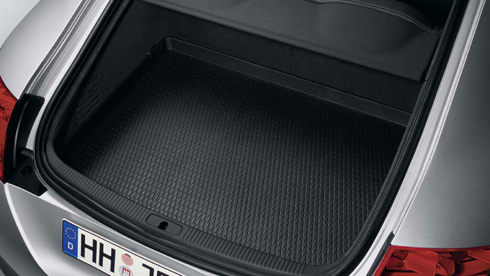 Luggage compartment inlay, for the TT Roadster with front-wheel drive or quattro drive