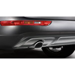 offroad style package, rear bumper, for vehicles with a single tailpipe and with the parking system plus, stone grey